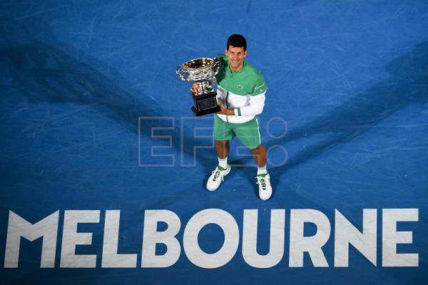 Supreme Djokovic trounces Medvedev to win 9th Aussie Open