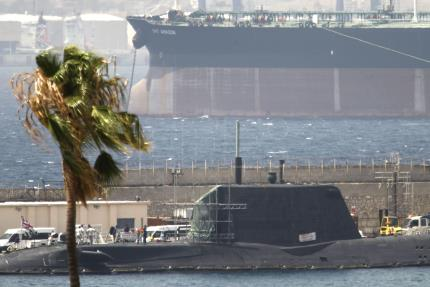 Spain reassured by Britain the crashed nuclear submarine poses no threat