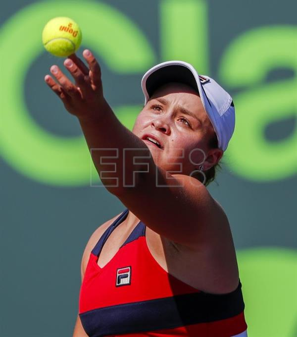 Ashleigh Barty: Barty Edges Bouchard In Miami To Continue Successful