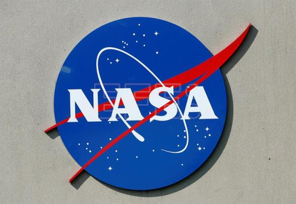 A file photograph showing NASA's logo at the Johnson Space Center in Houston, Texas Mar. 20, March 2007. EPA/AARON M. SPRECHER