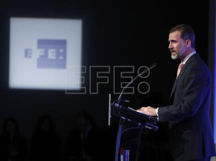 King of Spain presents Ibero-American journalism awards at ceremony in Madrid