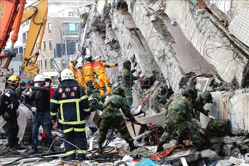 Death toll in Taiwan earthquake rises to 108