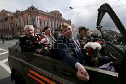 Russia, former Eastern bloc nations, honor Soviet victory over Nazi Germany