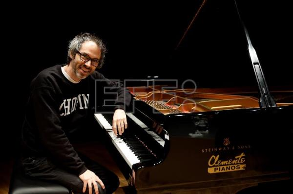 El pianista James Rhodes. EFE/Archivo