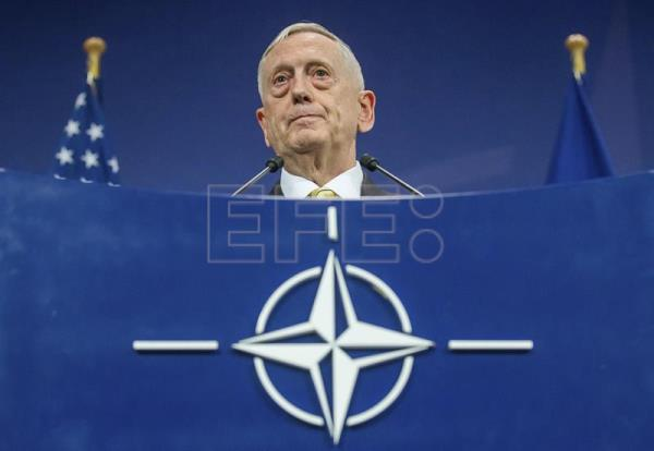 El secretario de Defensa de Estados Unidos, James Mattis. EFE/Archivo