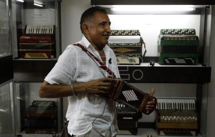 Colombia's Accordion Museum showcases the iconic European instrument
