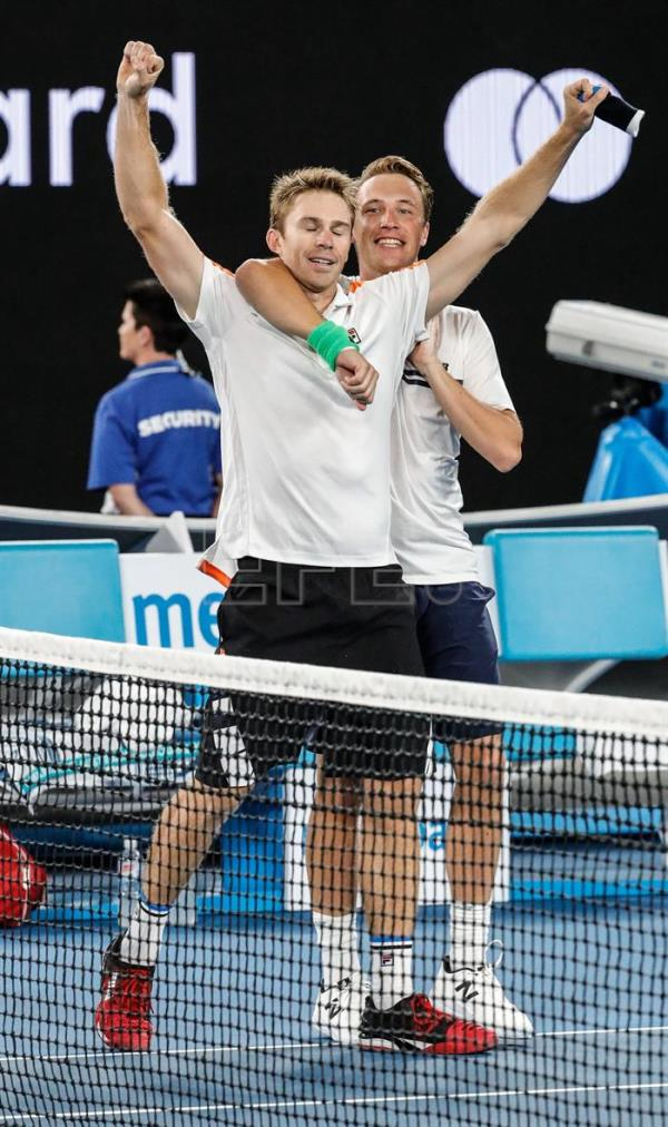 Kontinen, Peers win first Grand Slam title | Sports | English edition | Agencia EFE