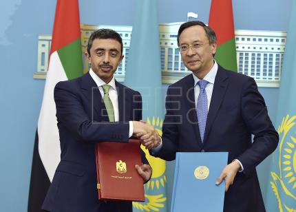 UAE agrees to petrochemical deal, visa-free regime with Kazakhstan