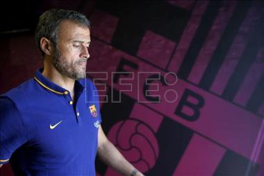 Luis Enrique le pone un notable a la pretemporada
