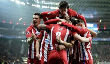 Atleti poised to advance after 4-2 win at Leverkusen