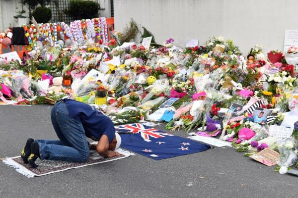 New Zealand mosque attack gunman to represent himself at sentencing