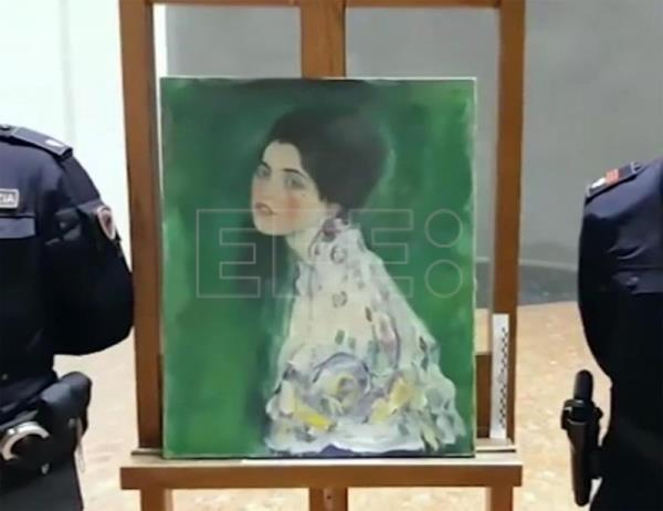 Painting found in Italian gallery it went missing from confirmed as Klimt