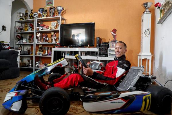 Wallace Martins, the 'Hamilton of the favela' with racing in his blood