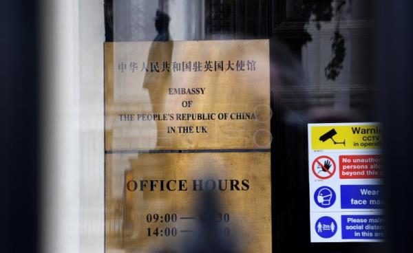 UK, China lock horns over Hong Kong national security law