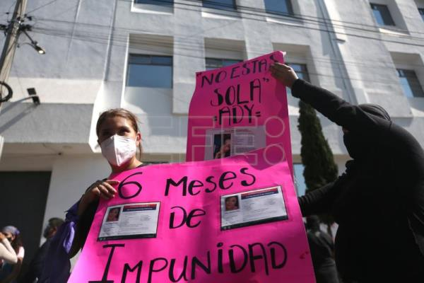 Mexico activists demand justice for gender-based violence