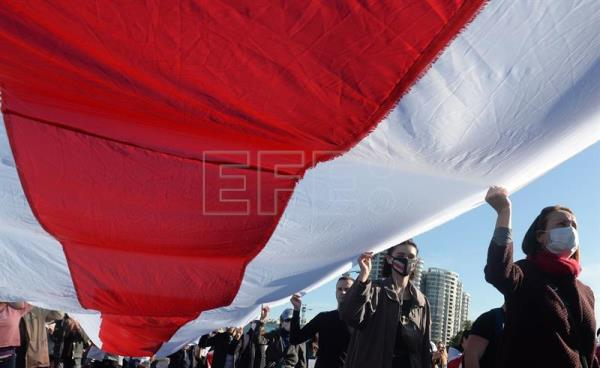 Opposition protests continue in Minsk
