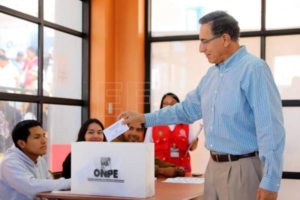 Peru parliament divided with center-right majority: exit poll