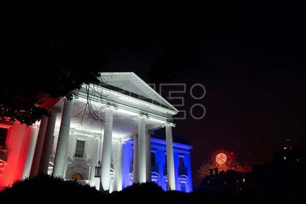 The 2020 Salute to America celebration at the White House