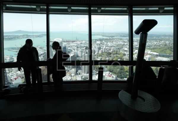 New Zealand enters recession after 'largest quarterly GDP drop on record'