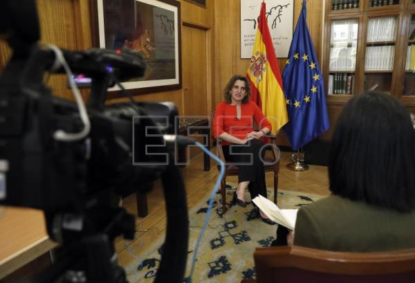 Spanish minister: People's health comes before economy