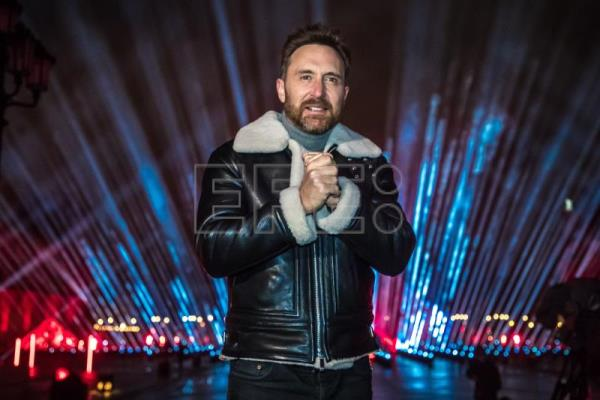 David Guetta to put on New Year's Eve show from Paris' Louvre