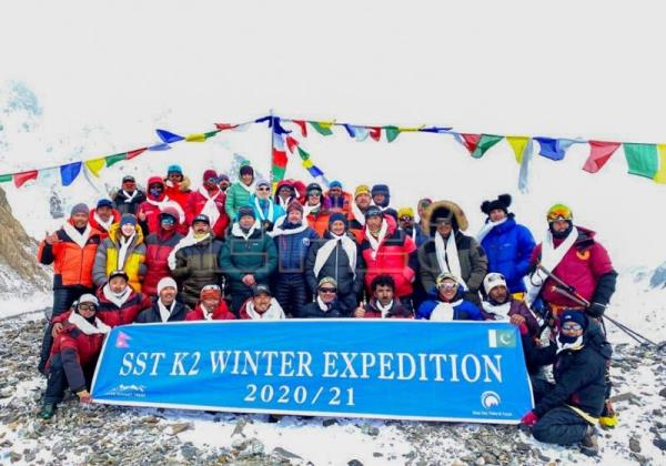 Triumph, tragedy mark historic winter first on K2 by Nepali climbers