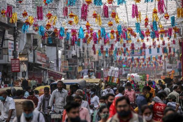 India's Diwali celebrations subdued by Covid-19
