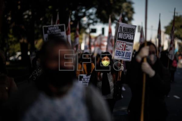 Protests in Argentina over situation of poor during pandemic