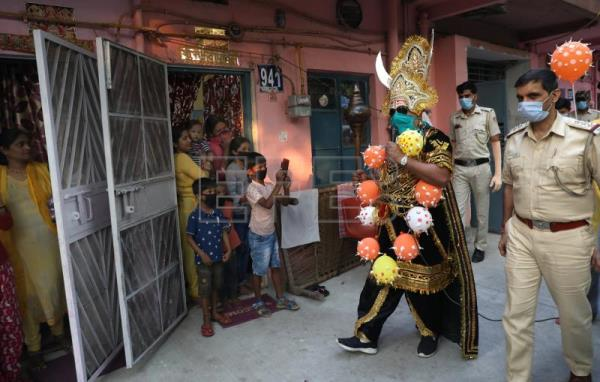 Acting as lord of death: how Indian police enforced world's largest lockdown
