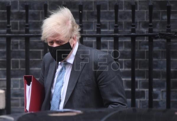 "Boris Johnson, ""muy optimista"" con desconfinar el Reino Unido para junio"