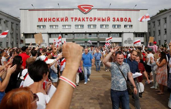 Belarus opposition calls for nationwide strike
