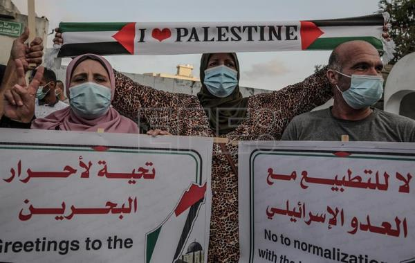 Protests against Abraham Accords in Gaza