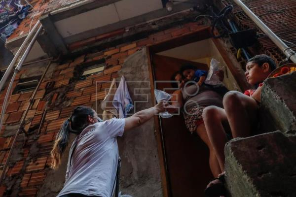 Hip hop, funk helping to spread Covid-19 awareness in Brazilian favela