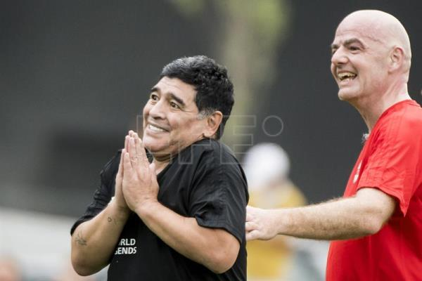 Diego Maradona died at age 60