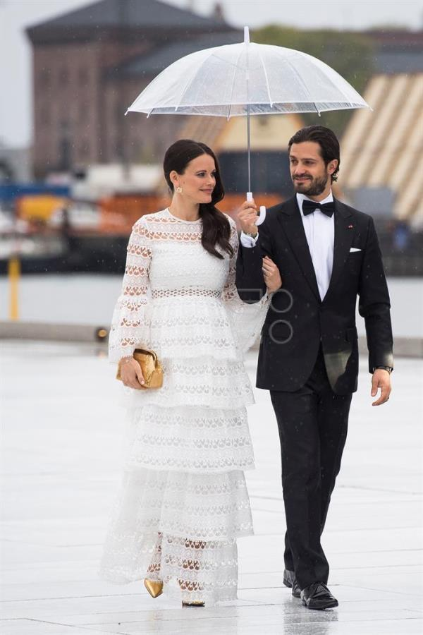 Prince Carl Philip and Princess Sofia of Sweden infected with coronavirus