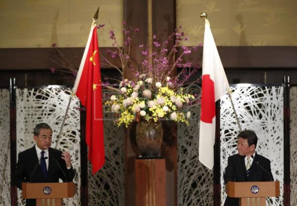 Japan, China agree to work towards easing East China Sea tensions