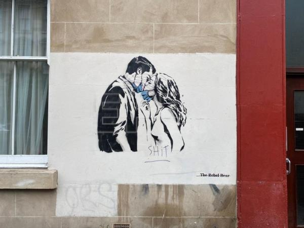 Scotland's Banksy leaves Covid-themed art scattered around Glasgow
