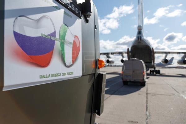 From Russia with love: developing world sends aid to crisis-hit Italy