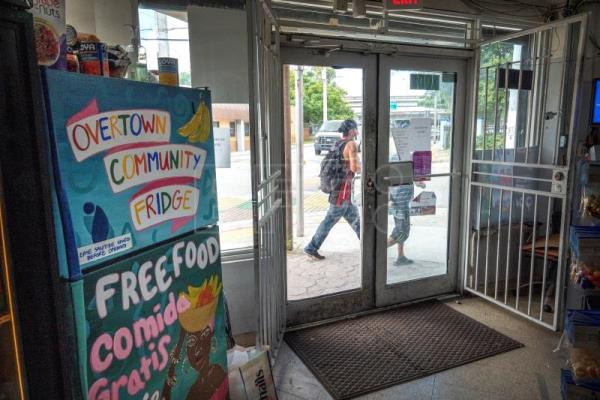 Community fridges help combat hunger in Miami during coronavirus