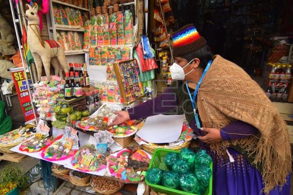 "Offerings to the ""Pachamama"" focus on requests for good health in Bolivia"
