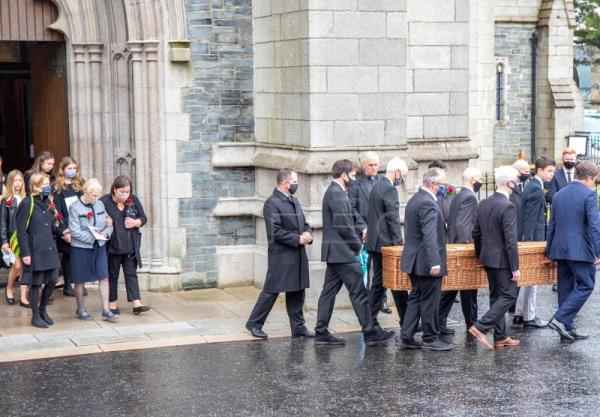 John Hume funeral in Derry