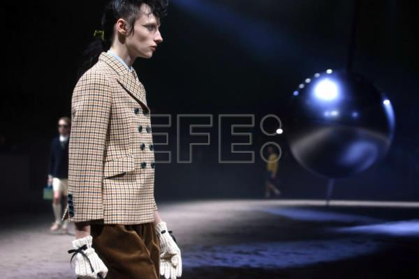 Gucci debunks myth of masculinity at Milan Fashion Week