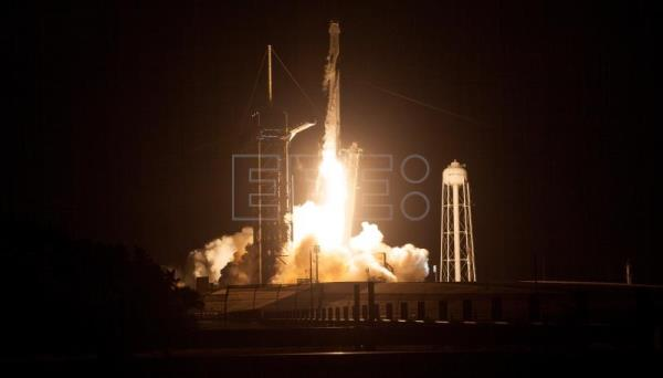 New NASA-SpaceX crewed mission lifts off for ISS