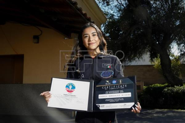 Young Mexican woman joins NASA, fulfilling her longstanding dream