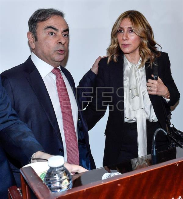 Carlos Ghosn press conference in Beirut