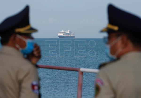 Cruise shooed from various countries over COVID-19 fears docks in Cambodia
