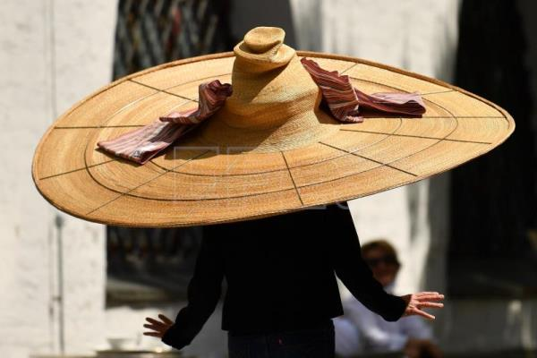 Munich museum showcases social distancing hat