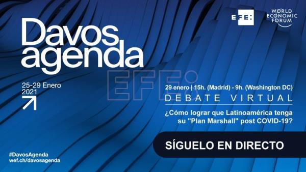 EFE to host Davos debate on LatAm's post-Covid economic recovery