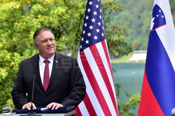 US Secretary of State Michael Pompeo visits Slovenia