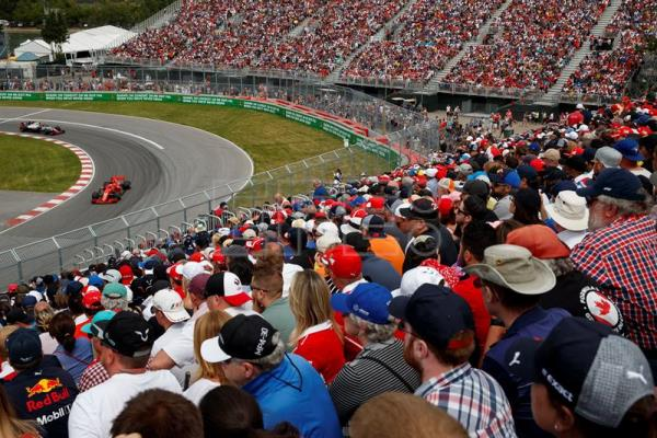 Canada Formula One Grand Prix postponed